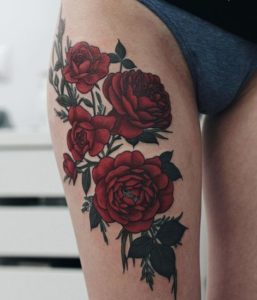 50+ Best Red Rose and Yellow Rose Tattoos and their meanings 10