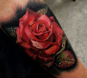50+ Best Red Rose and Yellow Rose Tattoos and their meanings 11