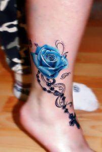 50+ Best Red Rose and Yellow Rose Tattoos and their meanings 27