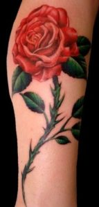 50+ Best Red Rose and Yellow Rose Tattoos and their meanings 5