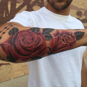 50+ Best Red Rose and Yellow Rose Tattoos and their meanings 9