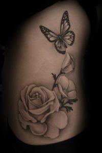 50+ Best Red Rose and Yellow Rose Tattoos and their meanings 12