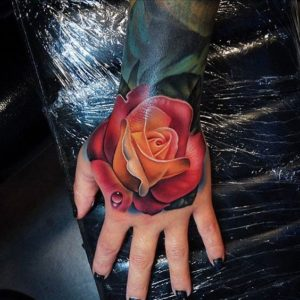 50+ Best Red Rose and Yellow Rose Tattoos and their meanings 3