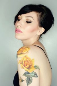 yellow rose tattoo meaning