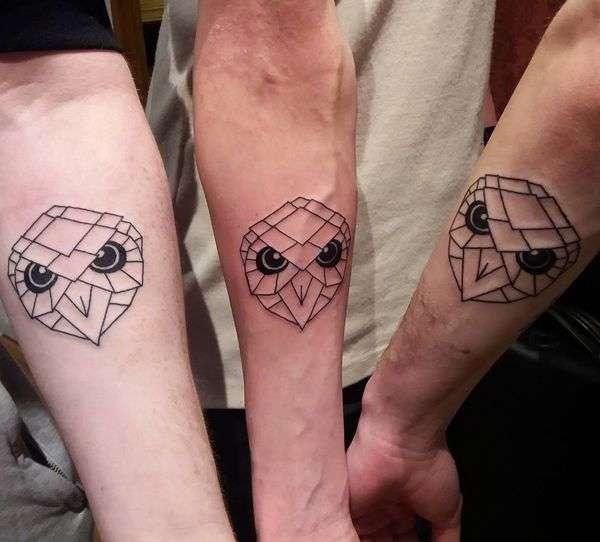 Tatuaje de mejores amigos - Águila