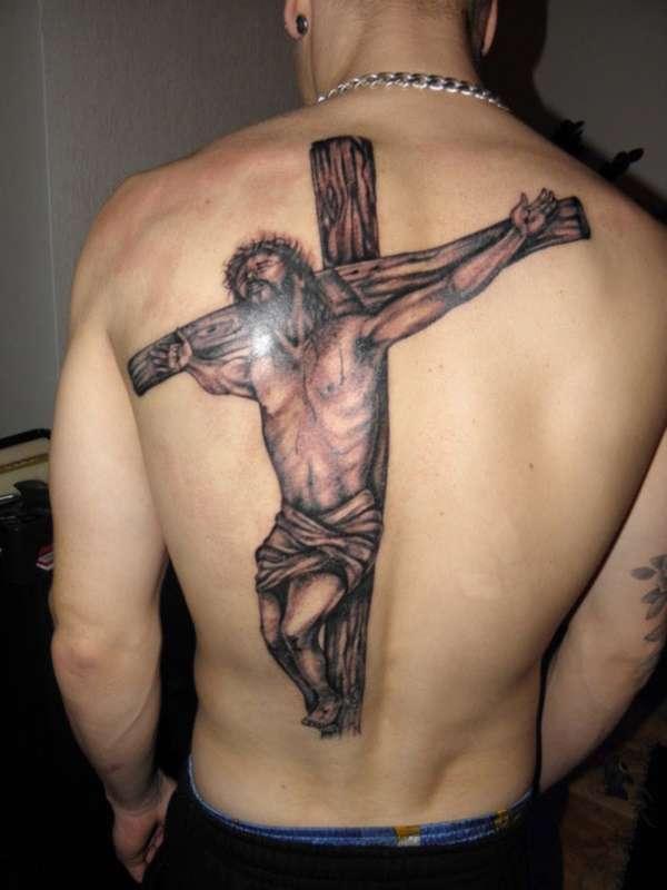 Tatuajes cristianos: Jesús en la Cruz