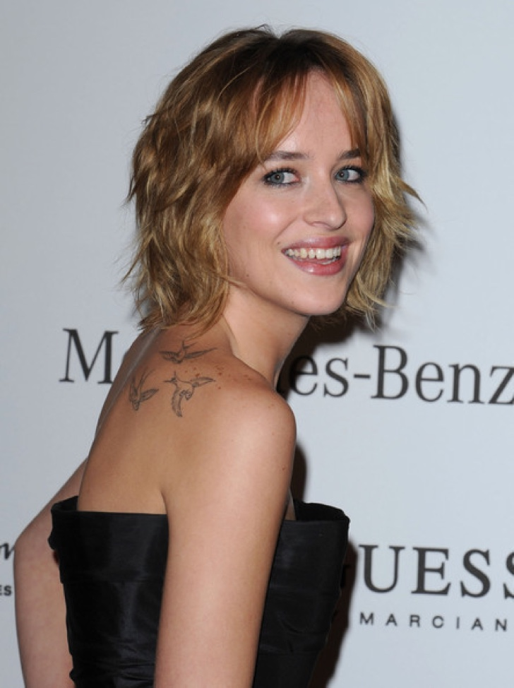 Tatuajes de celebridades: Dakota Johnson