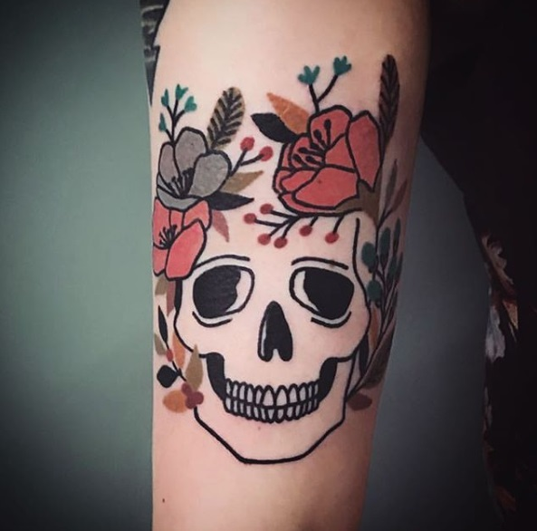 Tatuaje realizado por Matt Cooley - Instagram