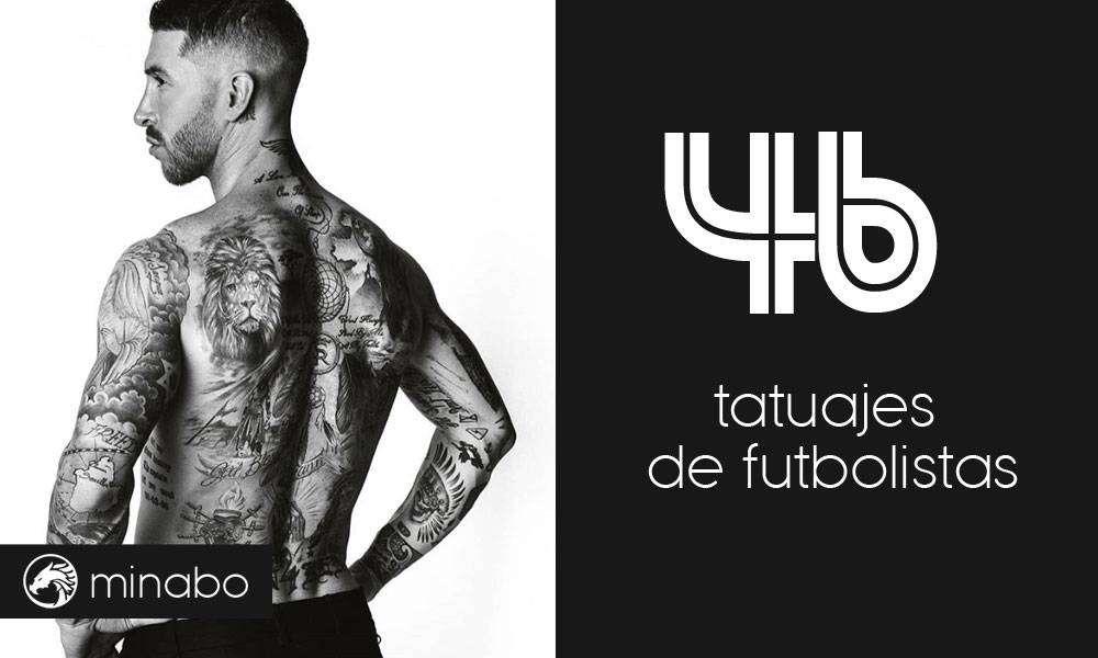 46 excelentes tatuajes de futbolistas famosos y sus significados